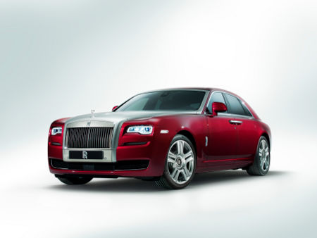 Rolls-Royce Ghost Facelift 2014