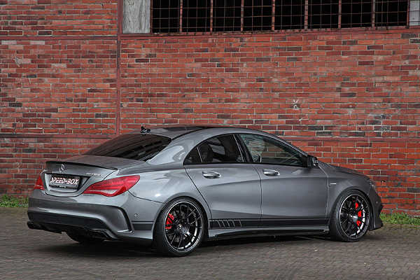 Mercedes CLA 45 AMG von Schmidt Revolution und Speed-Box