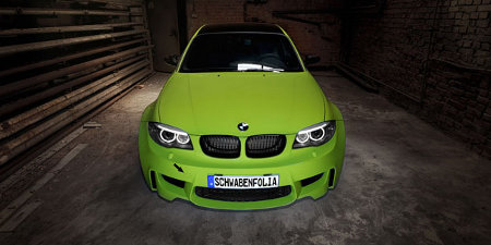 BMW 1er M Coupé by SchwabenFolia