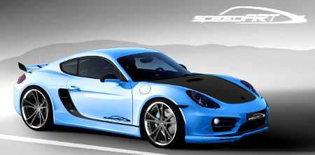 Porsche Cayman SP81-CR by speedART