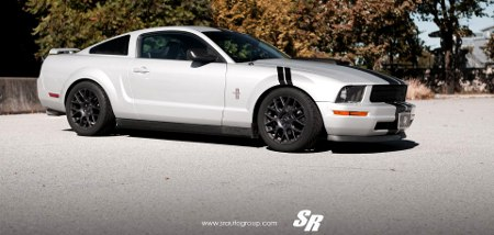 Ford Mustang Custom Car by SR Auto