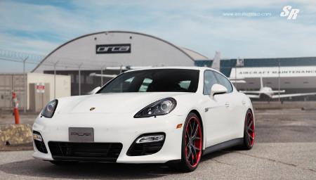 Porsche Panamera GTS Crimson Crusader by SR Auto