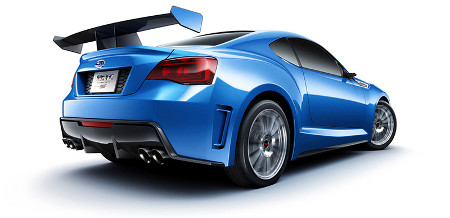 Subaru BRZ STi Concept 2011