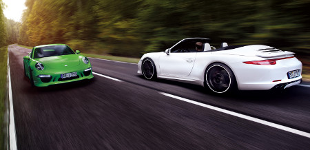 Porsche 911 Carrera 4 by TechArt