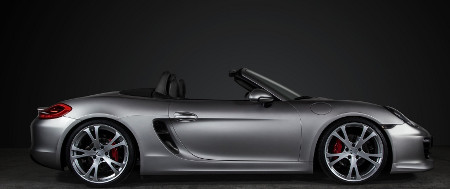 Porsche Boxster 981 by TechArt