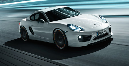 Porsche Cayman II by TechArt