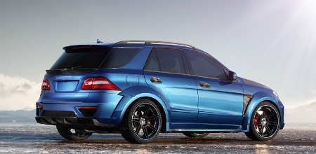 Mercedes ML 63 AMG Inferno by TopCar