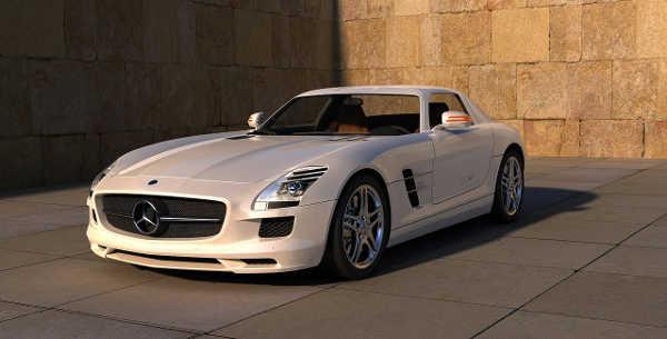 Mercedes-AMG SLS für das Autopfandleihhaus