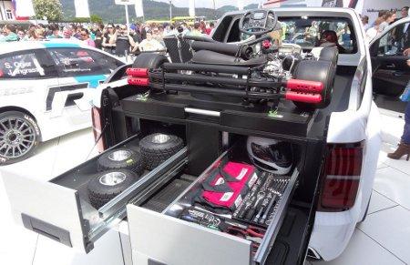 Über-amarok: vw zeigt am wörthersee amarok power-pickup
