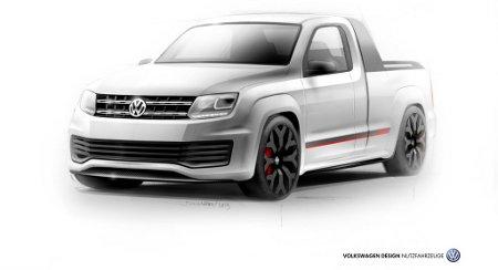 VW Amarok Power-Pickup Wörthersee 2013