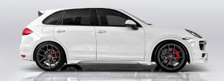 Porsche Cayenne mit Vorsteiner Tuning-Programm V-CT