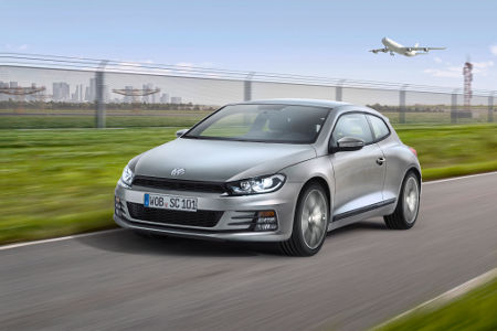 VW Scirocco Facelift 2014