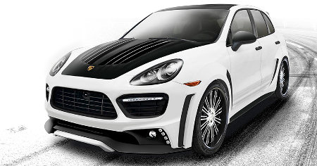 Porsche Cayenne Turbo Black Bixon Edition by WALD International