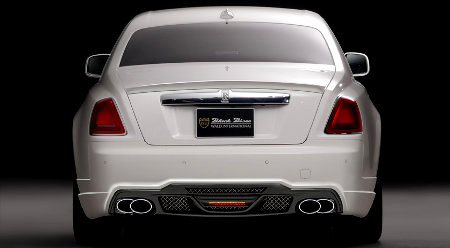Rolls-Royce Ghost Black Bison Edition