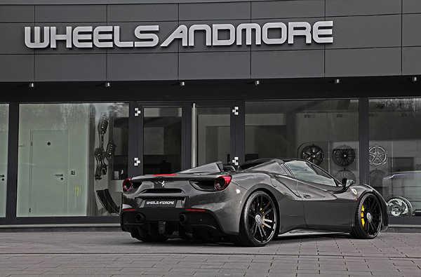 Ferrari 488 GTS Triple-Seven Wheelsandmore