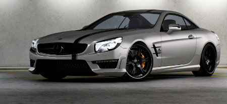 Mercedes SL 63 AMG Seven-11 by Wheelsandmore