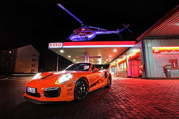 Porsche 991 Turbo S Cabrio von Wimmer