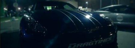 Drag Race Kawasaki ZX-14R gegen Nissan GT-R AMS Alpha 12+