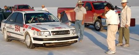 1992er Audi S4 Speed Week 2012